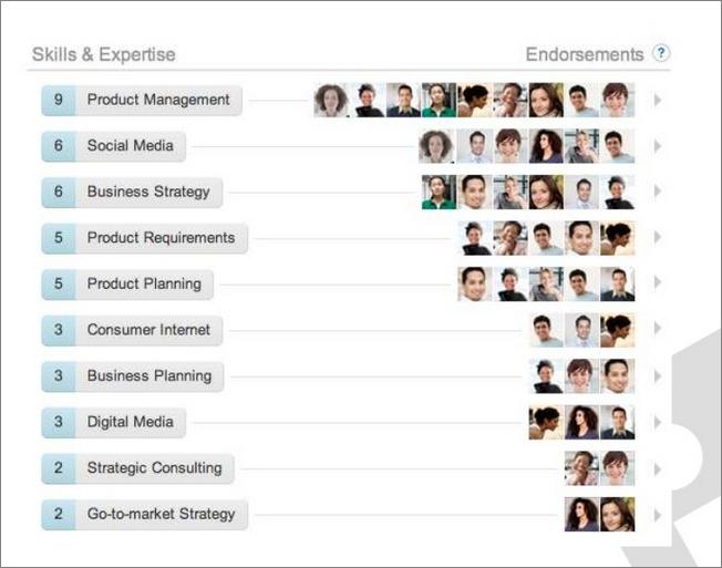 Linkedin lanza Endorsements para etiquetar habilidades