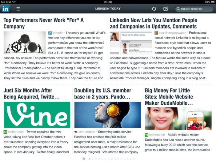 ¿Qué es LinkedIn Today?