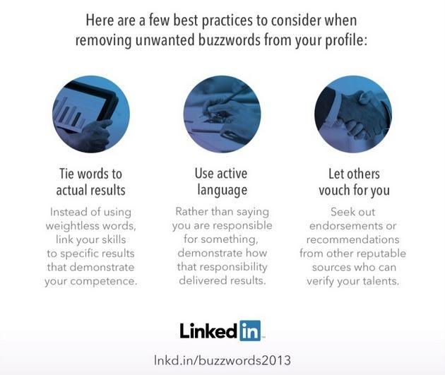 Consejos para evitar las buzzwords en tu perfil en LinkedIn