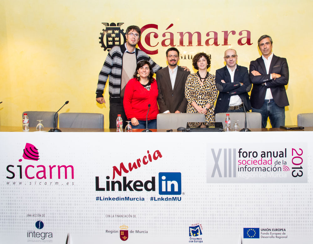 LINKED IN MURCIA Primer evento sobre LinkedIn en España