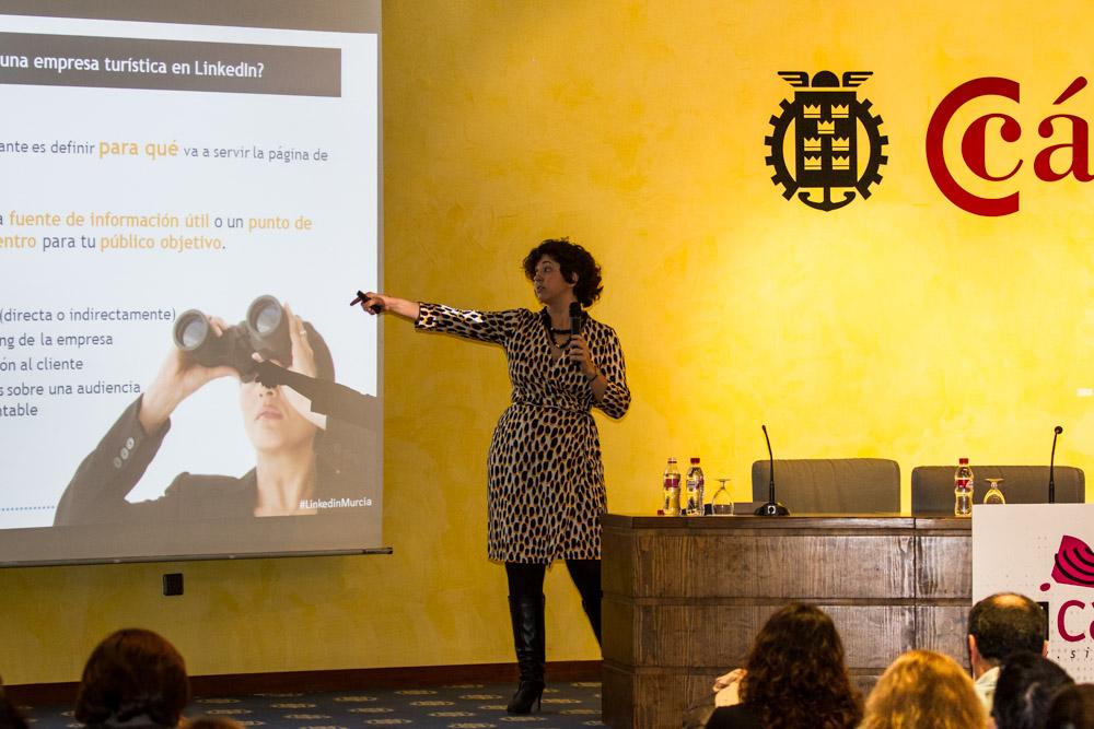 LINKED IN MURCIA _ Ponencia sobre LinkedIn para empresas turísticas de #LinkedinMurcia