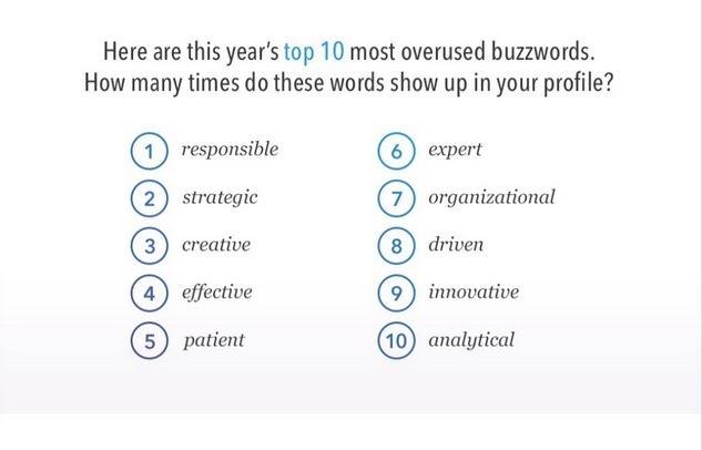 Top 10 de las palabras más utilizadas en los perfiles profesionales en LinkedIn