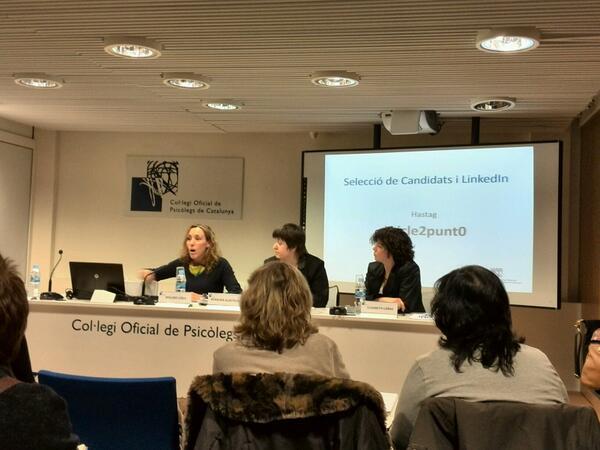 Ponencia Selección de candidatos y LinkedIn _ Dolors Liria - Rosaura Alastruey - Elisabet Cañas