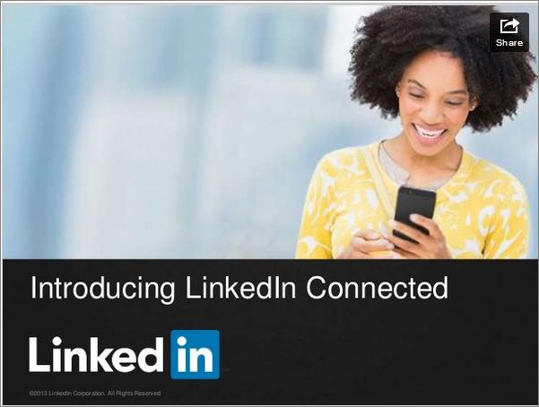 Presentación de LinkedIn Connected