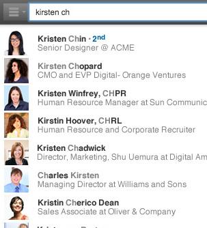 nueva herramienta de búsqueda de LinkedIn 1