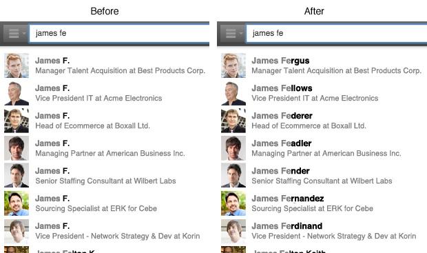 nueva herramienta de búsqueda de LinkedIn 2