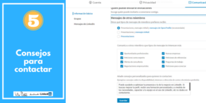 CONSEJOS PARA CONTACTAR LinkedIn