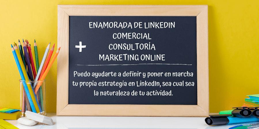 COMERCIAL + CONSULTORÍA + MARKETING ONLINE + LINKEDIN _ Elisabet Cañas _ Descubriendo LinkedIn _ LinkedIn coaching _ LinkedIn mentoring _ consultor LinkedIn _ Experto LinkedIn